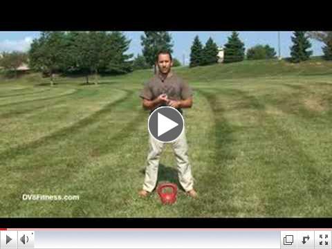 Kettlebell Basics - Two Arm Kettlebell Swing