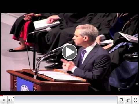 Rahm Emanuel Commencement Speech at National Louis University