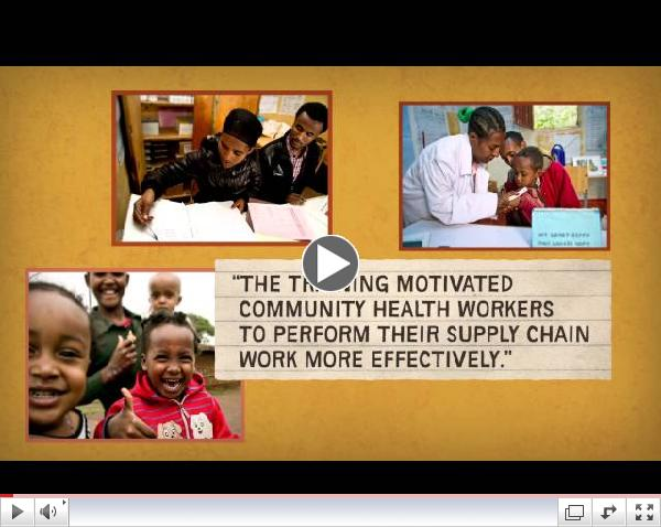 Saving the lives of children under five through supply chain innovations