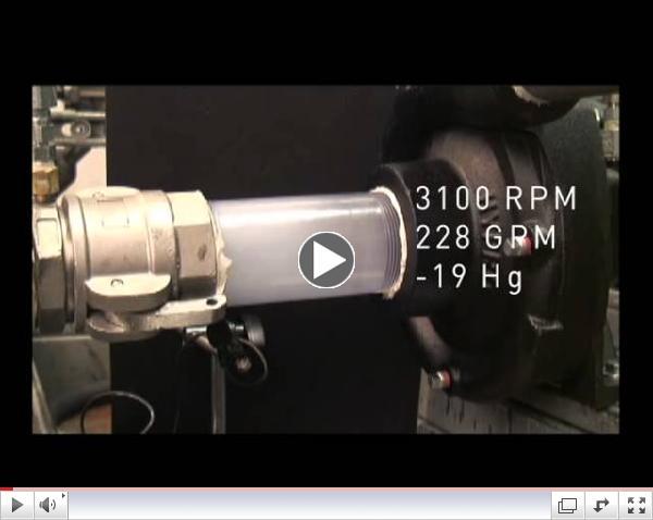 Demonstration of Pump Cavitation