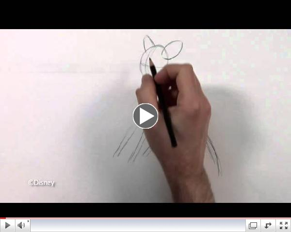 How to Draw Bambi with Andreas Deja