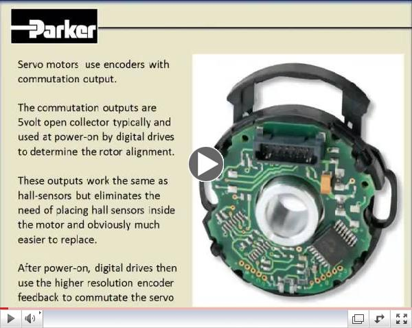 Parker Motion Control Basics: How does an Encoder work? What is Commutation?
