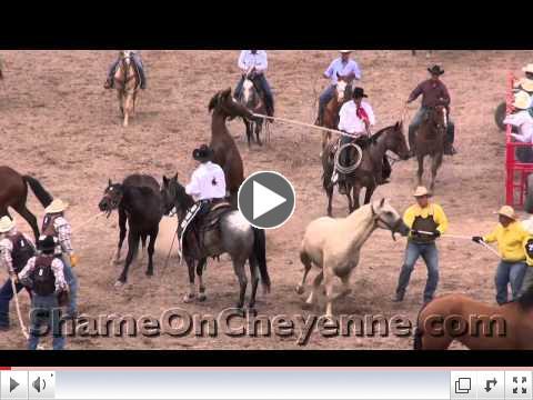 2012 Cheyenne Cruel Wild Horse Race