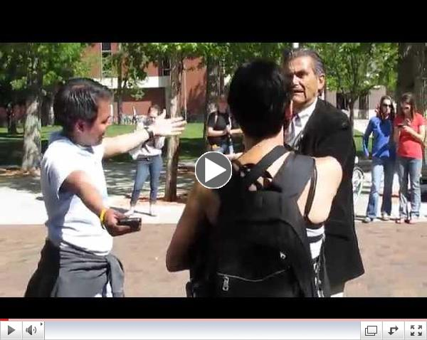 Fun with Jesus at Boise State, May 7 2014, part 2 of 2