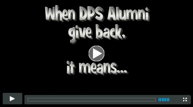 Come Back and Give Back to DPS!!!