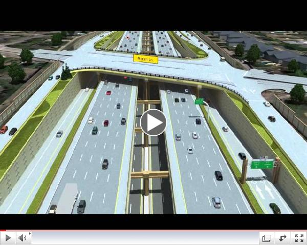 LBJ Express Project Animation VIDEO