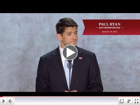 Paul Ryan's GOP Convention Speech