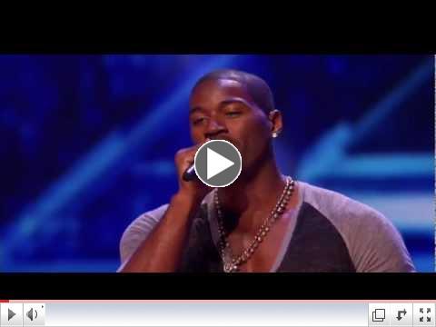 Terrell Carter - Audition 1 - THE X FACTOR 2011