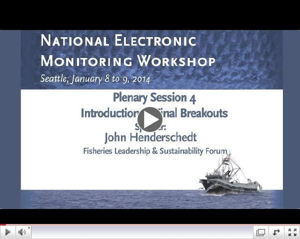 Electronic Monitoring Workshop 2014: Plenary 4 - John Henedersch