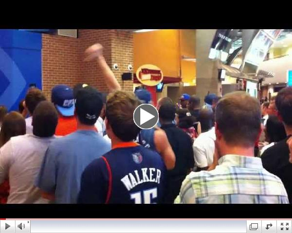 Bobcats Draft Party Crowd Reaction To Cody Zeller Pick