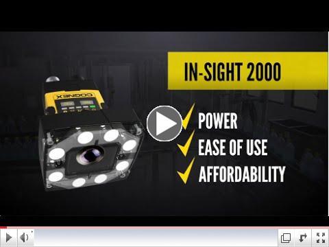 Cognex In-Sight 2000 Vision Sensor