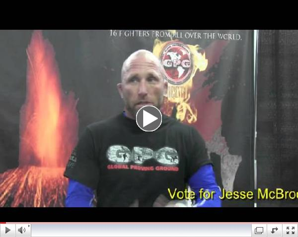 GPG Fighter Jesse McBroom Warrior Island Tryout Video for Global Proving Ground