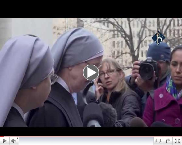 The Little Sisters of the Poor v. Burwell Press Conference