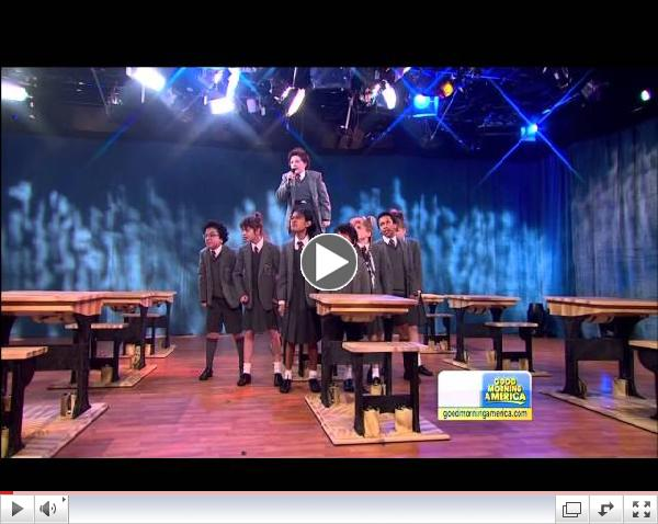 Watch the Cast of Broadway's Matilda the Musical Perform on Good Morning America