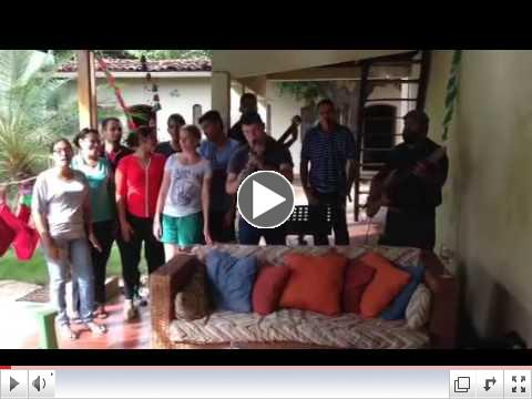 Video of JustHope Nicaragua staff singing Christmas greetings.