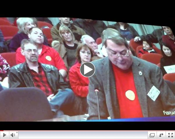 Naperville IL - Residents Confront Officials Smart Meter Arrests