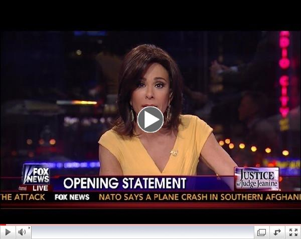 Judge Jeanine Pirro Slams Jihad Mom: Lady, You Shouldn't Be Allowed Here