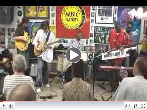 David Batiste & the Gladiators @ the Louisiana Music Factory