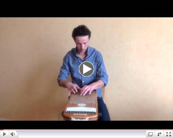 Asturias - Albeniz (extract) on Harpejji G16 by Mathieu Terrade.