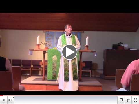 Pr. Steve's Sermon: Living Our Prayers