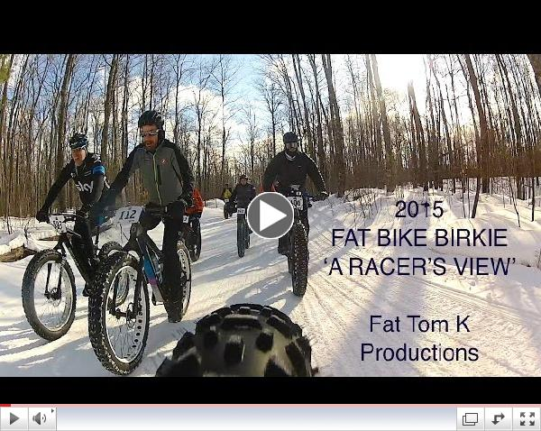 2015 Fat Bike Birkie - A Racer's View