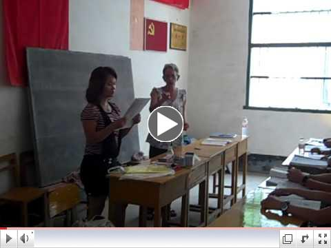 Health Assistant Workshop in Longfu Township