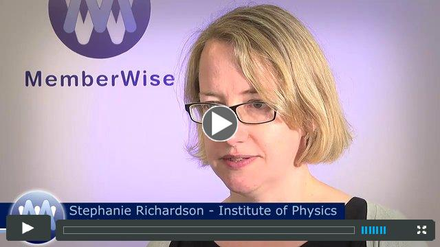 Stephanie Richardson, Head of Membership, Institute of Physics (IOP)