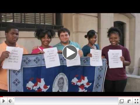 NYC Youth Ask President Obama to Attend Rio+20