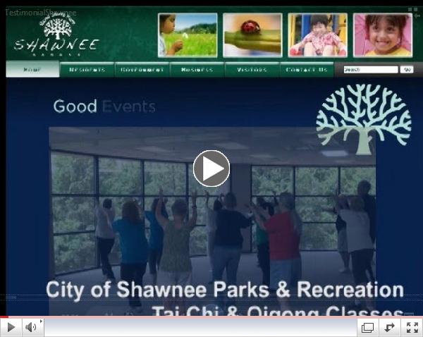 Shawnee (KS) Civic Centre Tai Chi and Qigong Classes with Best-Selling Tai Chi Author