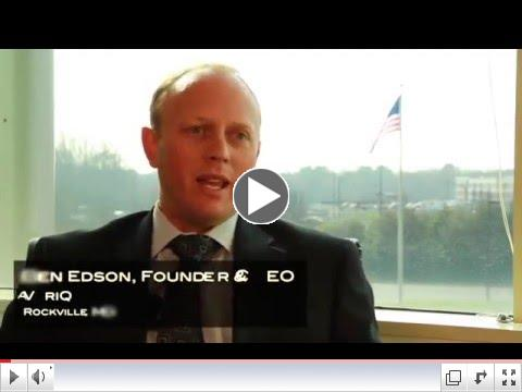 Why Maryland? Why Rockville?  Ask VariQ CEO Ben Edson