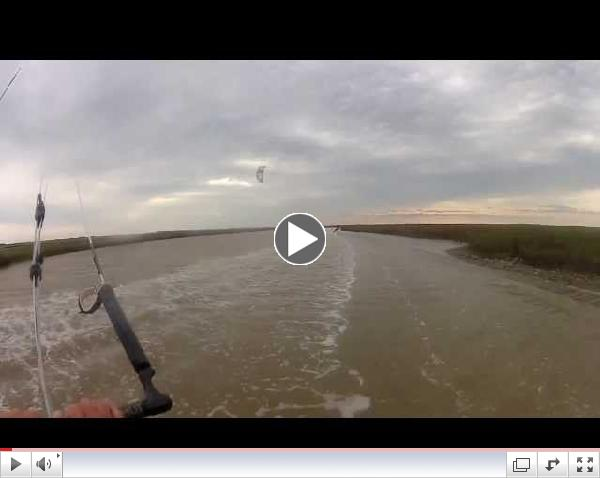 Houston Kiteboarding Instructor Ride