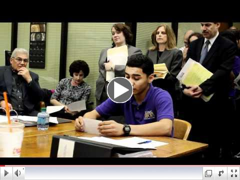 Young Voices youth on High Stakes Testing
