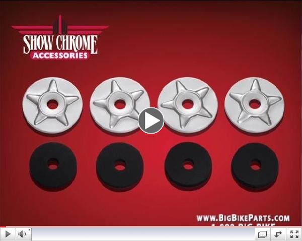 Star Washers with Rubber Washers