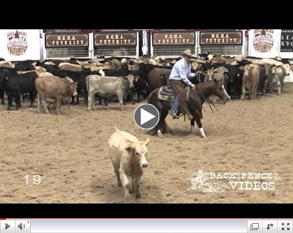Bamacat & Austin Shepard - 2012 NCHA Open Futurity Reserve Champion