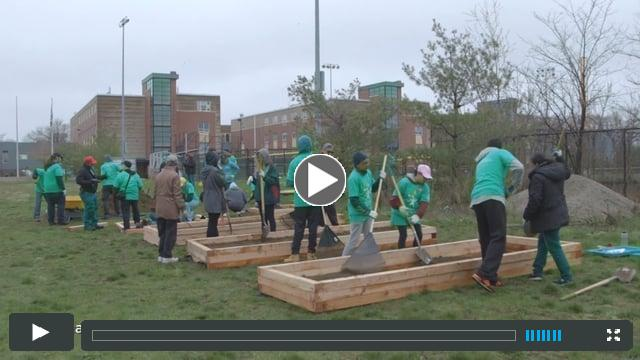 Groundwork Lawrence: Comcast Cares Day 2017 and Earth Day Unite