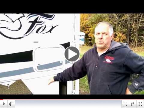 2016 Arctic Fox Truck Camper Winterization - Truck Camper Warehouse
