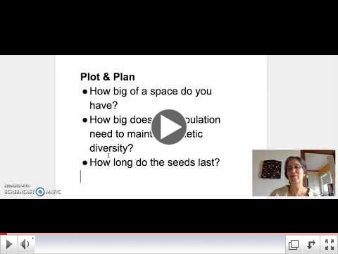 Selecting Seeds to Steward