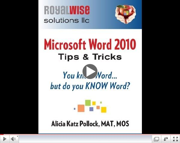 Microsoft Word Tips & Tricks: You Know Word, but Do You KNOW Word?