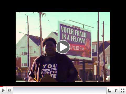 Voter Intimidation Billboards
