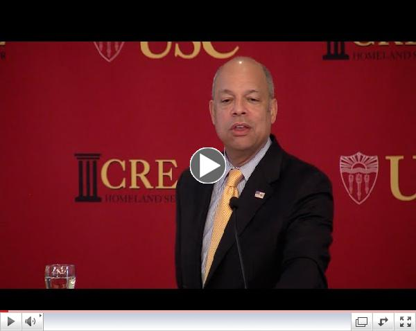 Highlights: Unity of Effort in Homeland Security: Secretary Jeh Johnson