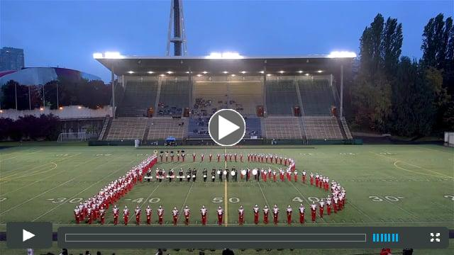 BHS Marching Band & Dance Team Homecoming Halftime Show | Oct 21, 2017