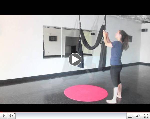 AERIAL YOGA w/Fly Gym classes located at Contemporary Spaces