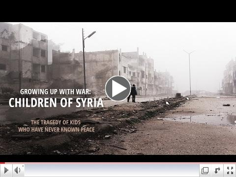 Growing up with War: Children of Syria. The tragedy of kids who have never known peace/ RT