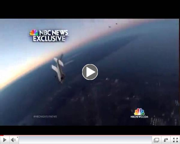 Exclusive: Skydivers' Miraculous Escape As Planes Collide Mid-Air In Wisconsin