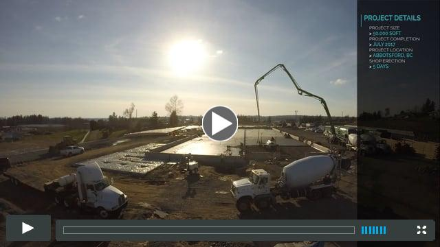 Installation of StructureCraft Industrial Facility - Time Lapse (part 1)