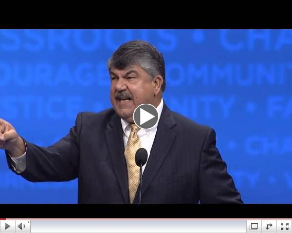 AFL-CIO 2013 Convention - President Richard Trumka Keynote Speech