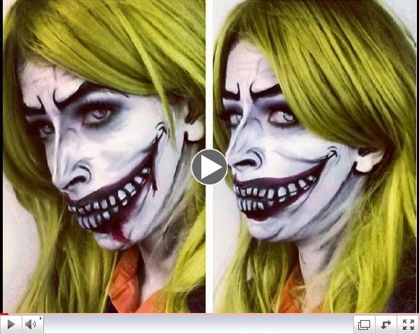 Halloween Makeup: The Joker Makeup inspired by BeautybyDehonsae