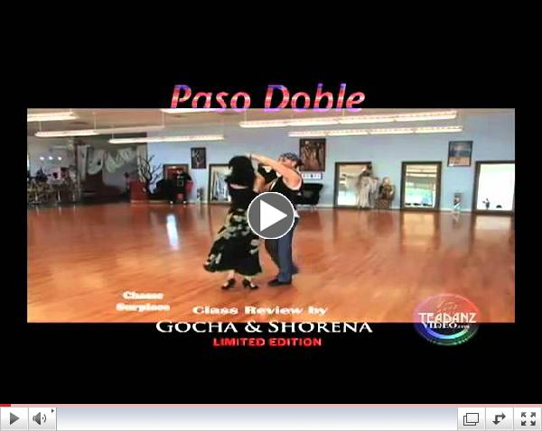 International PASO DOBLE DVD by GS Ballroom Dance Studio