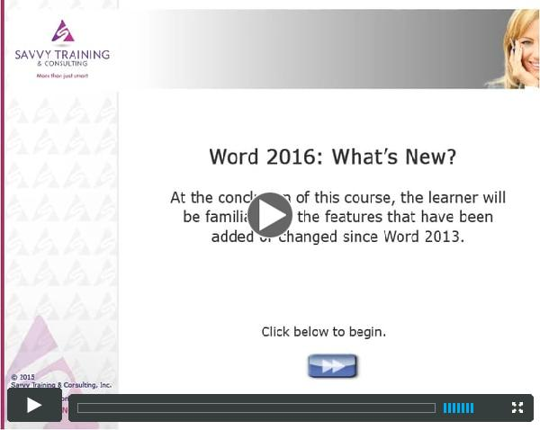 W16-100_What Is New in Word 2016