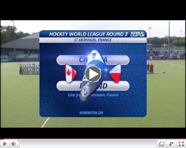 Hockey World League Round 2 Paris: Day 2 - Canada v Poland